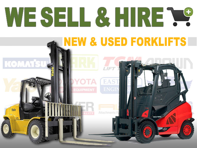 Danmac sell buy or hire new and used forklifts or attachments Sydney