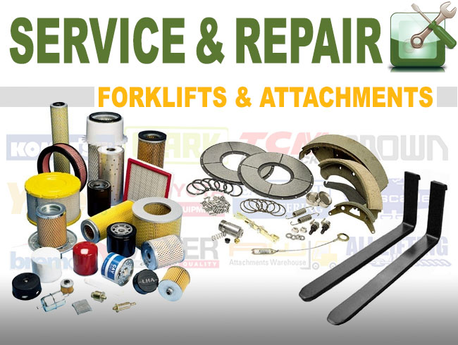 Danmac repair and service new and used forklifts or attachments Sydney