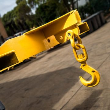 forklift attachment uses