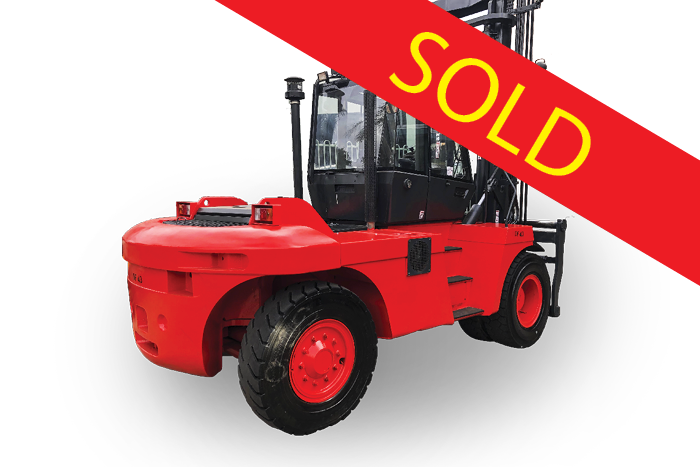 SOLD – Linde 15 Tonne Diesel Counter Balanced Forklift