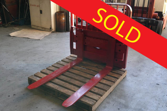 SOLD – Cascade 360 Forklift Rotator