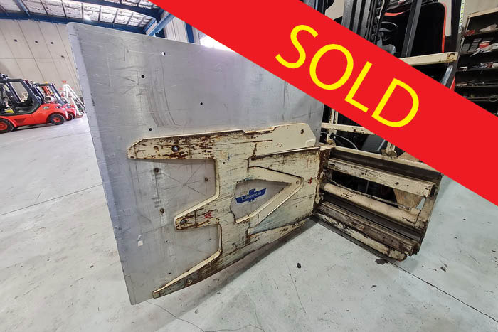 SOLD – Cascade White Goods Clamp
