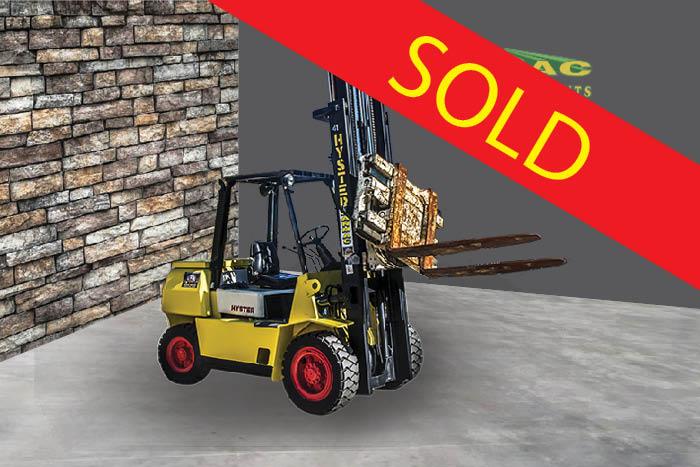 SOLD – Hyster 4.5 Tonne (4500kg) Diesel Counter Balanced Forklift