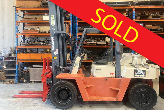 forklifts for hire sydney nissan 7 tonne dual lpg counter balanced