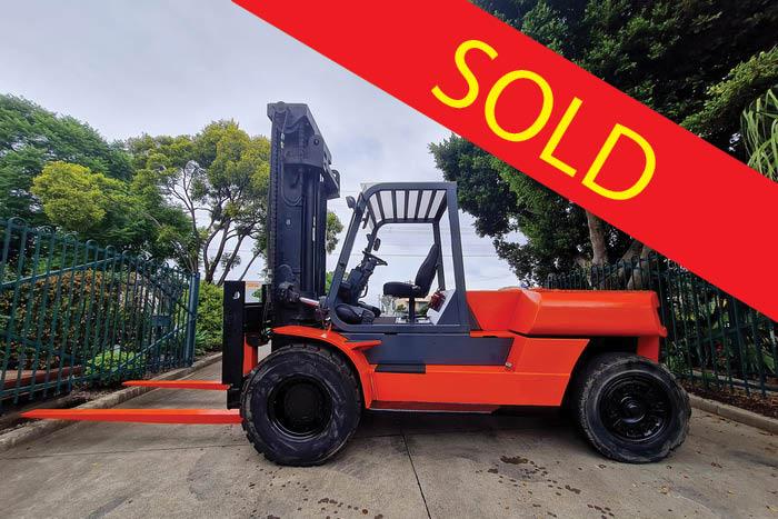 SOLD – Toyota 15 Tonne (15000kg) Diesel Counter Balanced Forklift