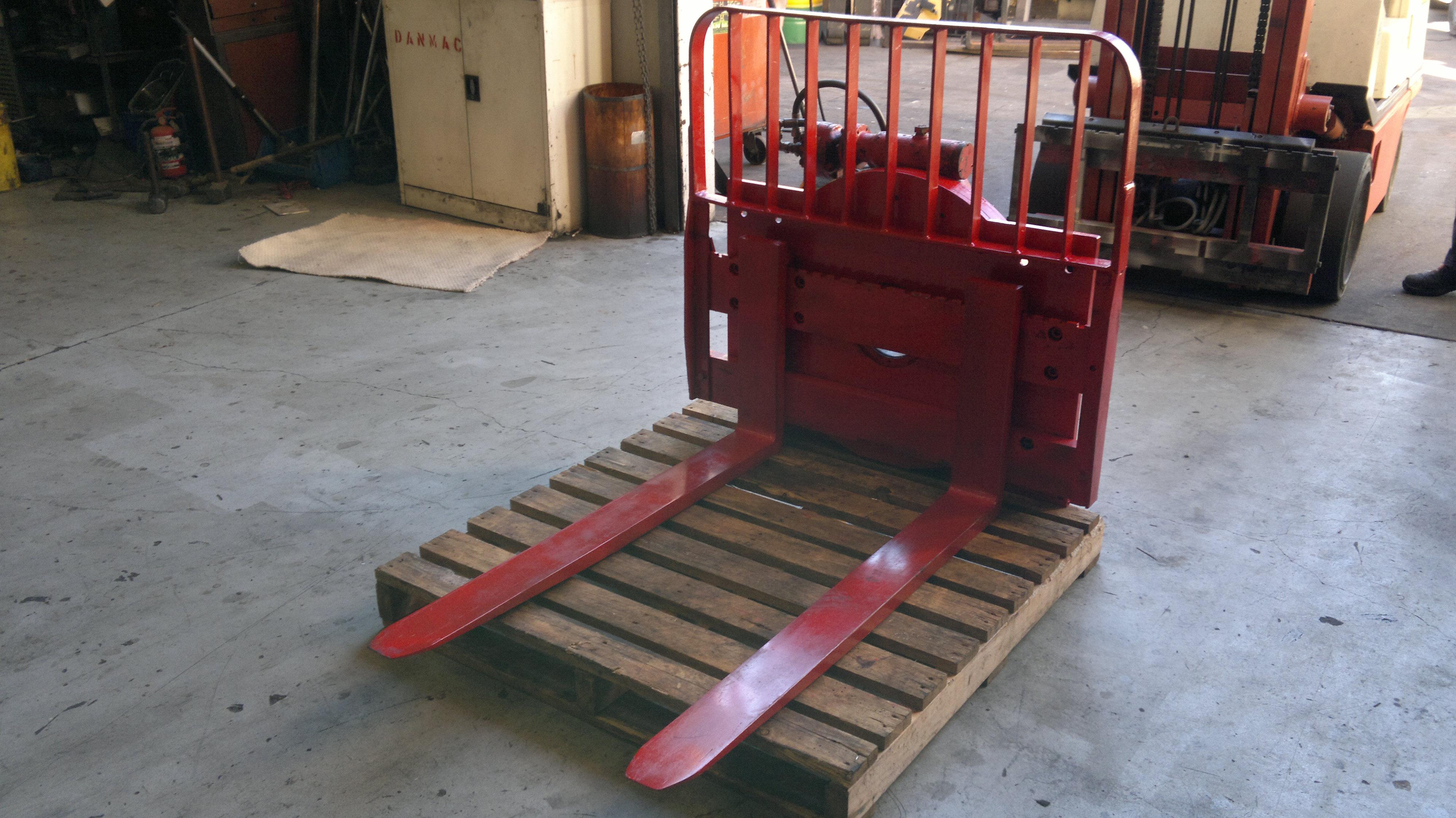 Cascade 360 Forklift Rotator