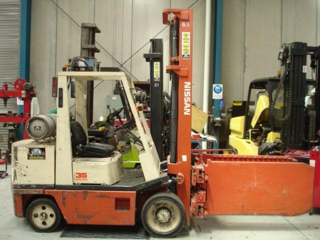 Nissan 3500kg LPG Counter Balanced Forklift