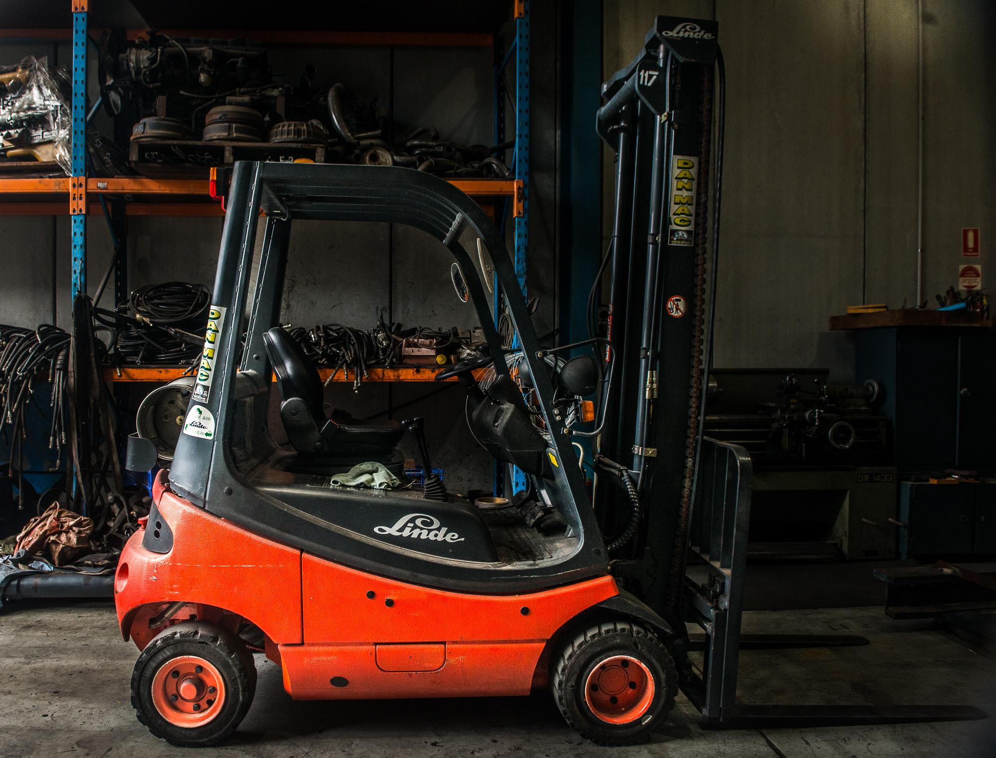 Linde 1.8 Tonne LPG Counter Balanced Forklift