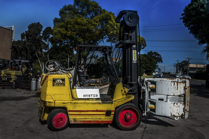 Hyster 7 Tonne LPG Counter Balanced Forklift