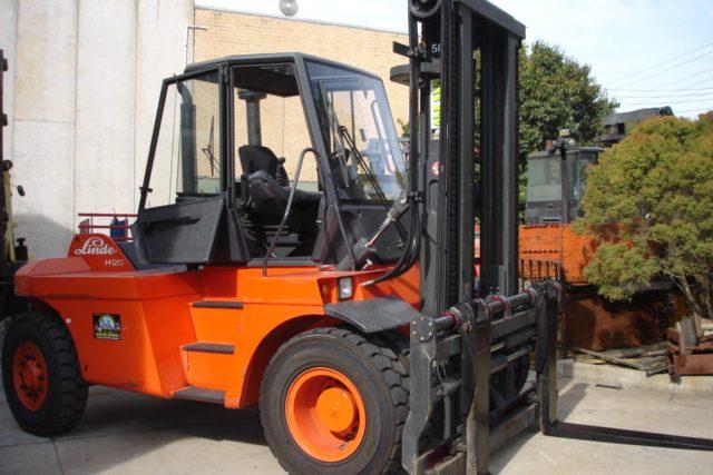 Linde 12 Tonne (12000kg) Diesel Counter Balanced Forklift