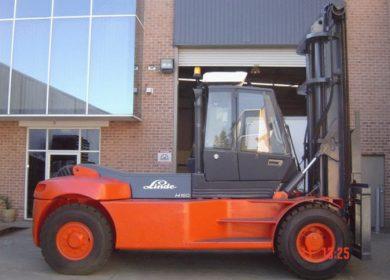 Linde 16 Tonne (16000kg) Diesel Counter Balanced Forklift