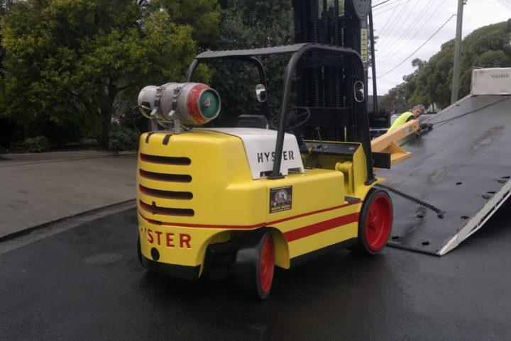 Hyster 7 Tonne (7000kg) LPG Counter Balanced Forklift