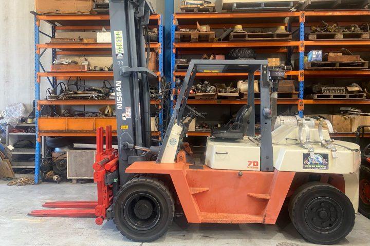 Nissan 7 Tonne (7000kg) LPG Counter Balanced Forklift