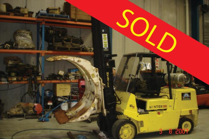 SOLD – Hyster 6 Tonne (6000kg) LPG Counter Balanced Forklift
