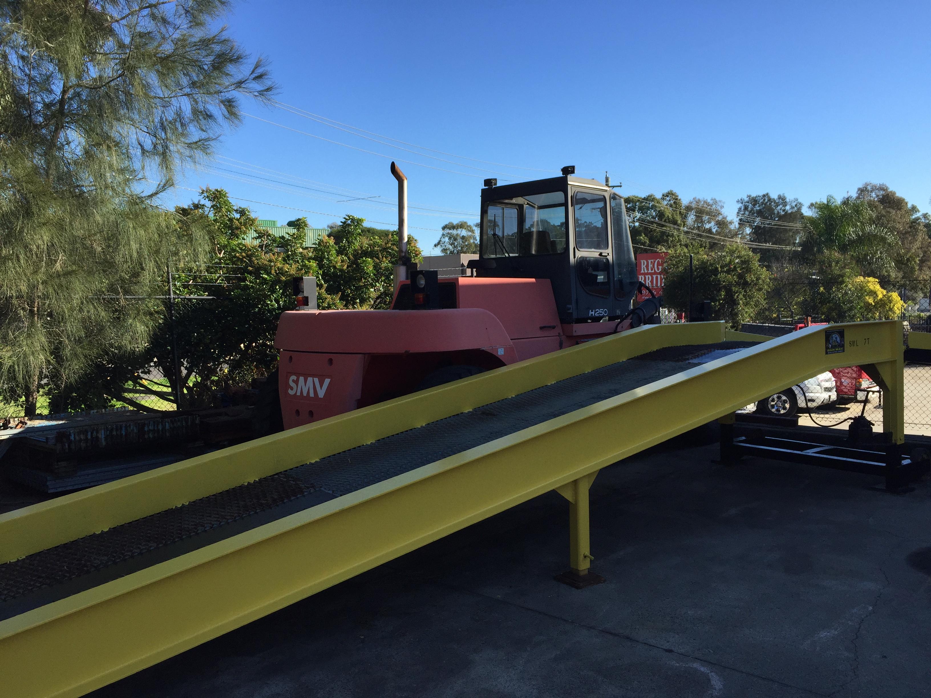 Forklift Truck Ramp