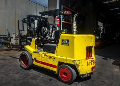 Hyster 7 Tonne (7000kg) Diesel Counter Balanced Container Mast Forklift