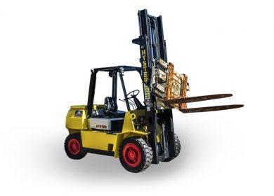 Hyster 4.5 Tonne (4500kg) Diesel Counter Balanced Forklift