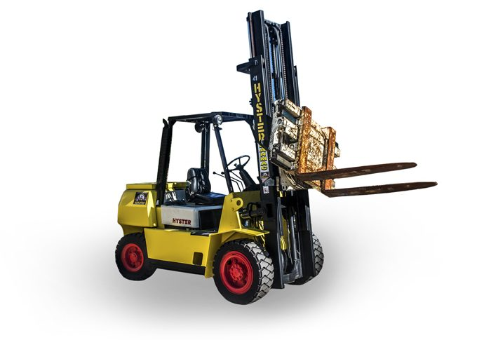 forklifts for hire hyster 4 tonne diesel counter balanced 41 1
