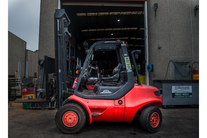 Linde 4.5 Tonne (4500kg) Diesel Counter Balanced Forklift