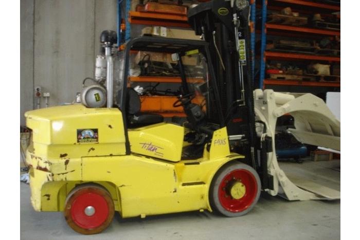 Hoist 9 Tonne (9000kg) LPG Counter Balanced Forklift