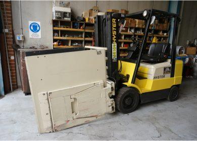 Hyster 2.5 Tonne (2500kg) LPG Counter Balanced Forklift