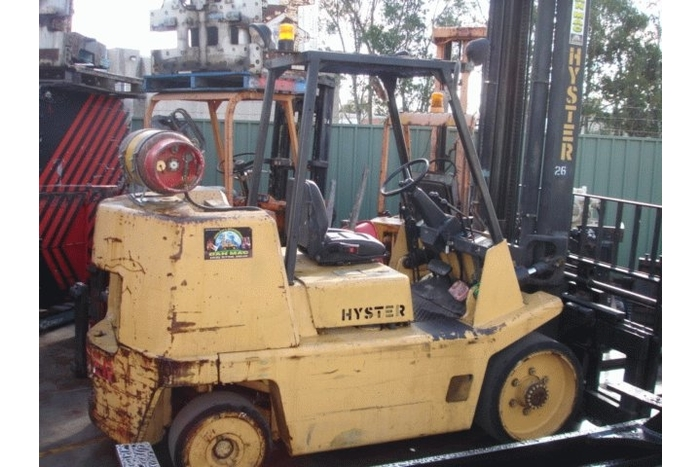 forklift for hire hyster 7 tonne lpg counter balanced 1