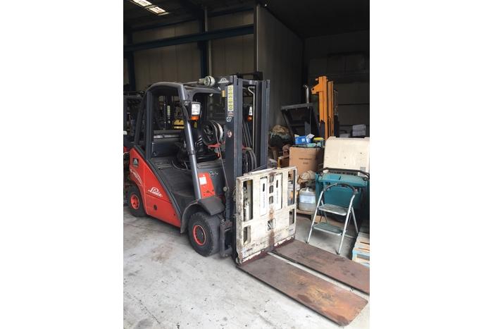 Linde 2.5 Tonne (2500kg) LPG Counter Balanced Forklift