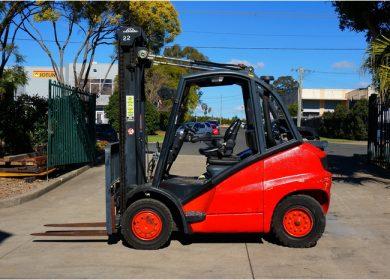 Linde 4 Tonne (4000kg) LPG Counter Balanced Forklift