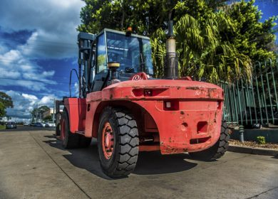Linde 15 Tonne (15000kg) Diesel Counter Balanced Forklift