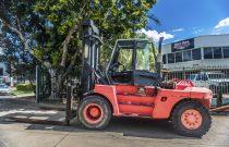 Linde 15 tonne Diesel Counter Balanced Forklift 07