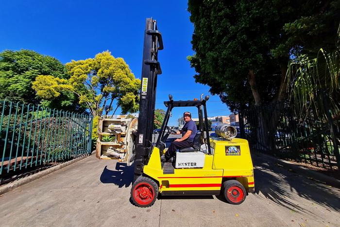 Hyster 5.5 Tonne (5500kg) LPG Counter Balanced Forklift