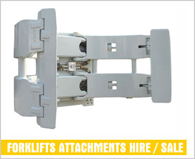 forklift attachments for hire