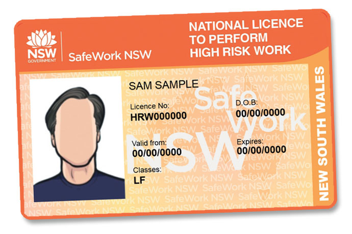 Forklift licenses in NSW