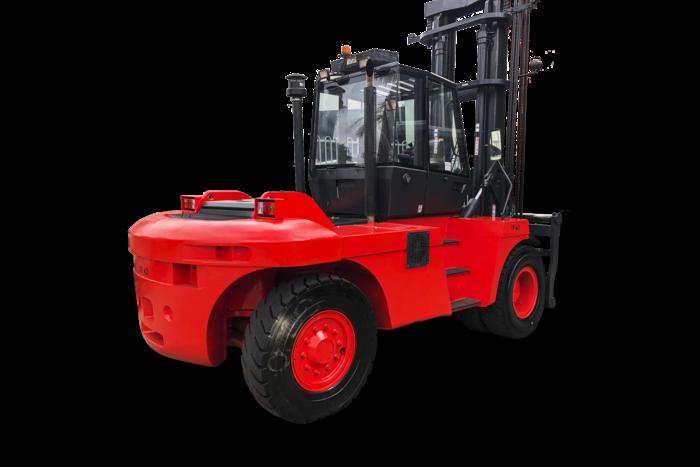 SOLD – Linde 15 Tonne Diesel Counter Balanced Forklift