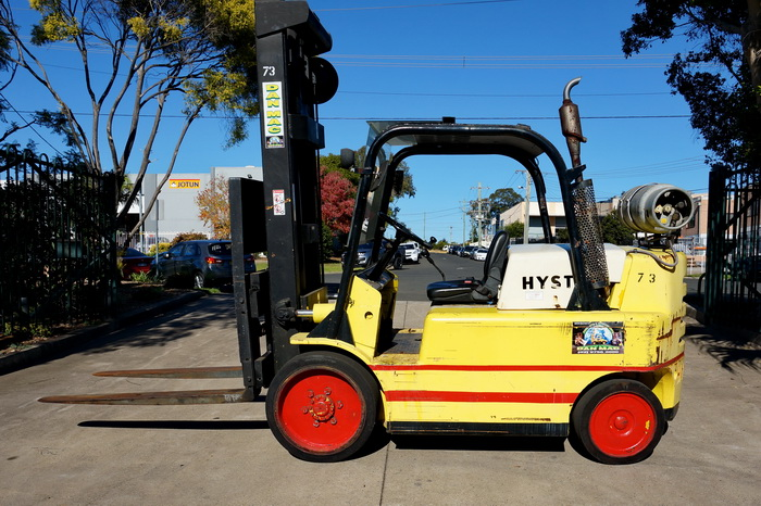 forklifts for hire sydney Hyster 7 Tonne LPG Counter Balanced