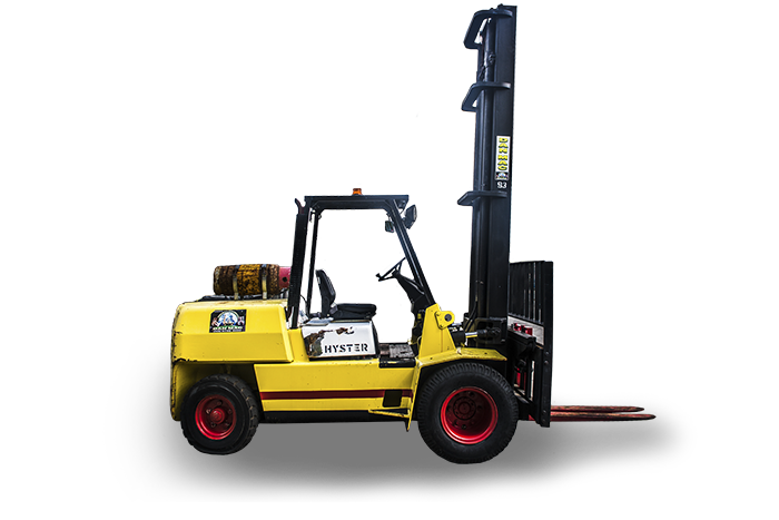 forklifts for hire hyster 4.5 tonne lpg counter balanced 93 1