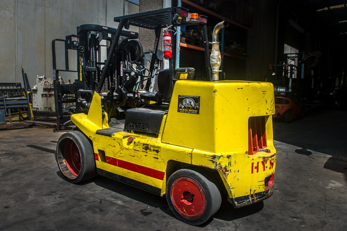 forklift for hire hyster 7 tonne diesel counter balanced 4 2