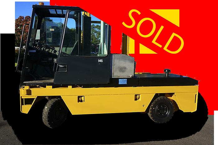 SOLD – Boss 300 Series 3 Tonne Diesel Side Loader