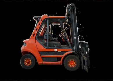 Linde 6 Tonne (6000kg) Diesel Counter Balanced Forklift