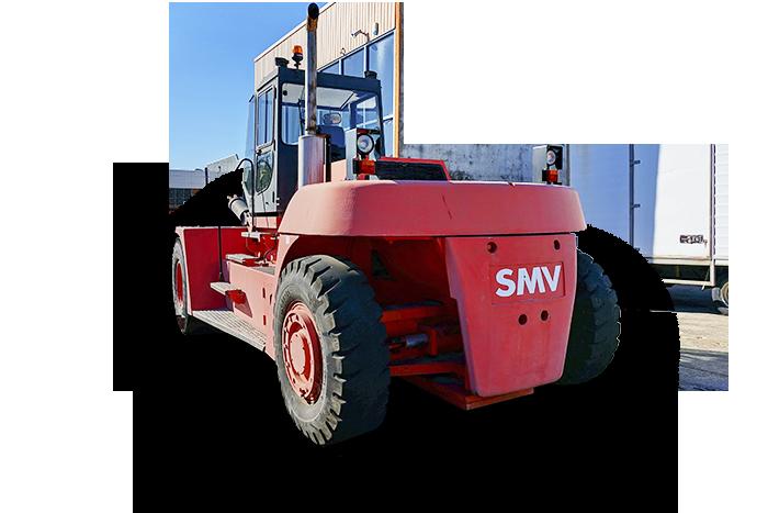 SMV 25 Tonne (25000kg) Diesel Counter Balanced Forklift