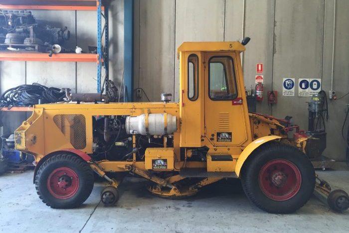 Aresco Shunting Tractor LPG Tractor