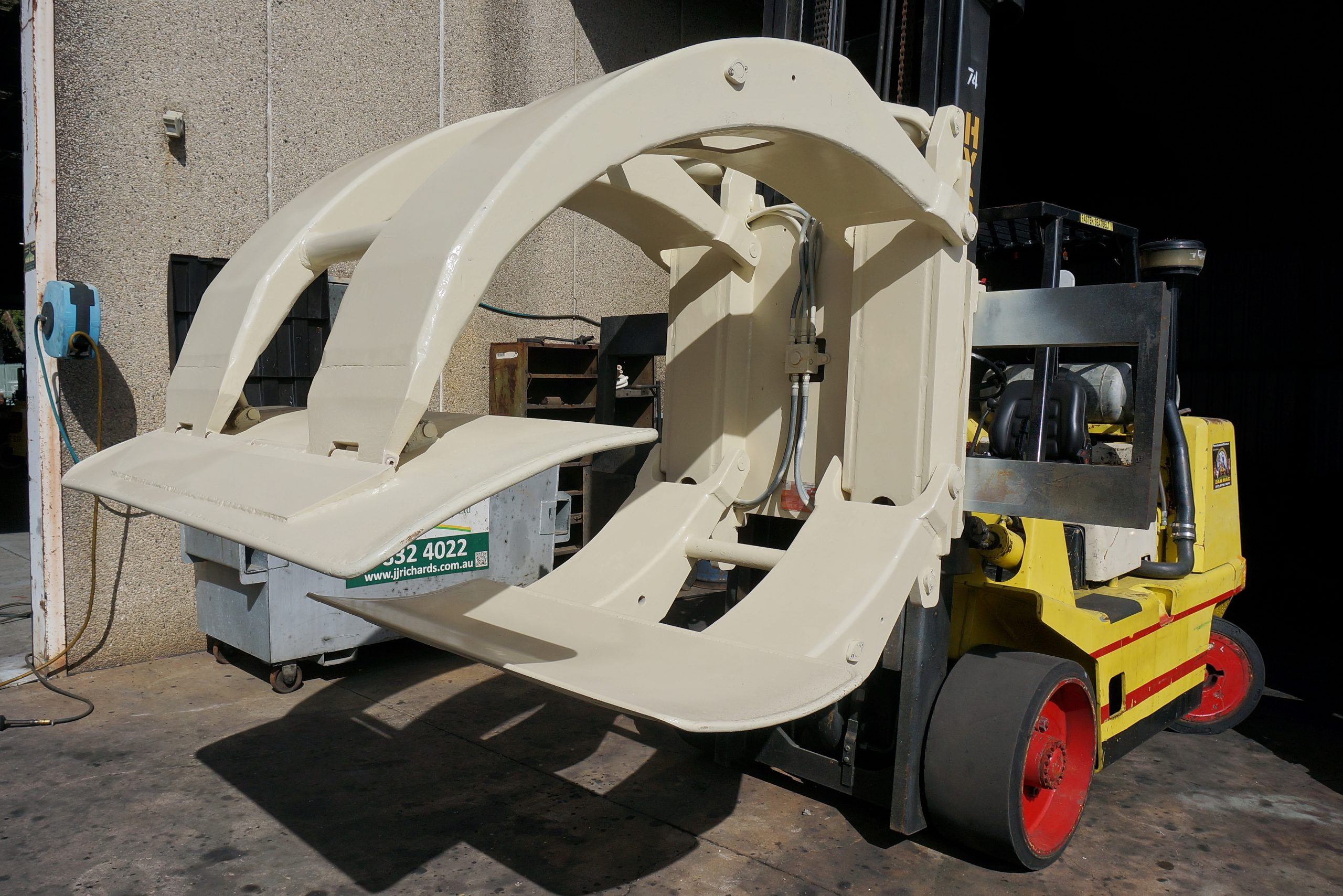 Cascade Paper Roll Clamp Forklift Attachment